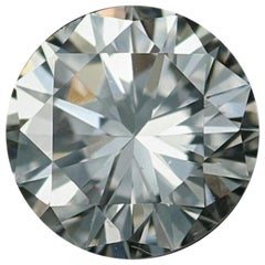 Loose Diamond, Round Brilliant Cut .39 Carat GIA Graded VS2 H Solitaire
