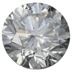 Loose Diamond, Round Brilliant Cut .45 Carat GIA I1 G Solitaire