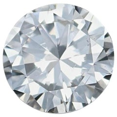 Loose Diamond, Round Brilliant Cut .49 Carat GIA Graded SI1 G Solitaire
