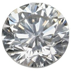 Loose Diamond, Round Brilliant Cut .50 Carat GIA Graded VS2 H Solitaire