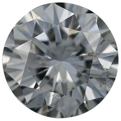 Loose Diamond, Round Brilliant Cut .51 Carat GIA F SI2 Solitaire