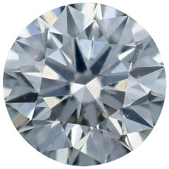 Loose Diamond, Round Brilliant Cut .54 Carat GIA H SI1 Solitaire