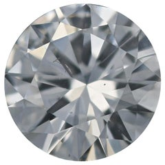 Loose Diamond, Round Brilliant Cut .56 Carat GIA D SI2 Solitaire