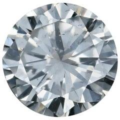 Loose Diamond, Round Brilliant Cut .80 Carat GIA K SI2 Solitaire