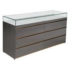 Loose, Drawers Showcases with Metal Structure