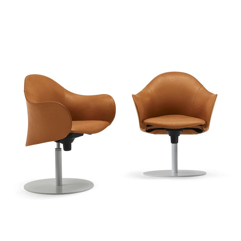 Modern Lopold Fixed-Based Chair by Giulio Manzoni For Sale
