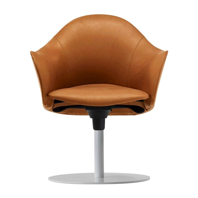 Lopold Fixed-Based Chair by Giulio Manzoni For Sale