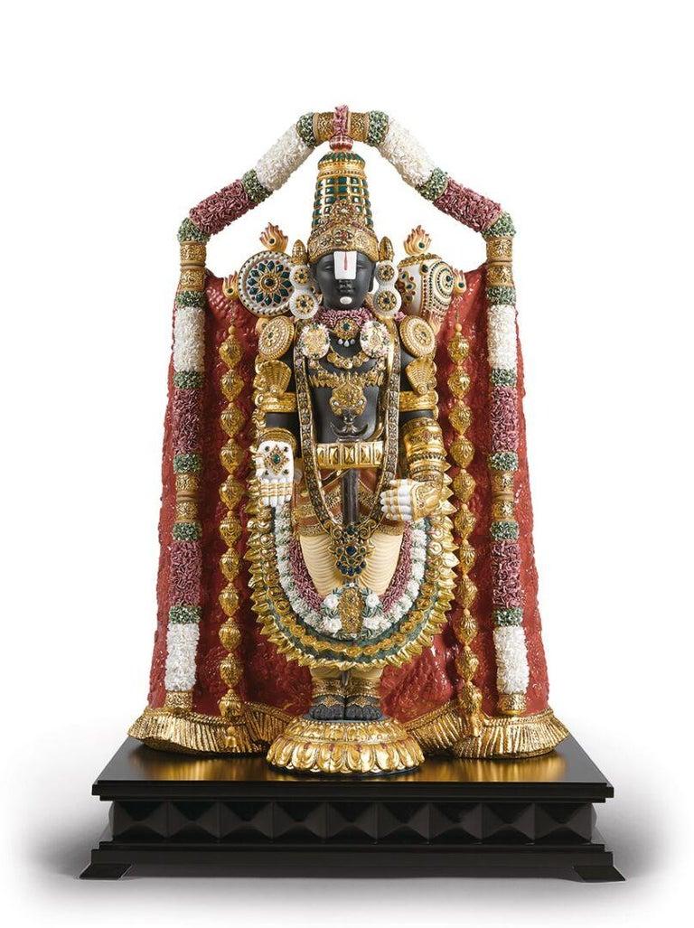 Contemporary Lord Balaji Sculpture For Sale