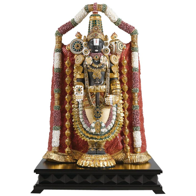 Lord Balaji Sculpture For Sale