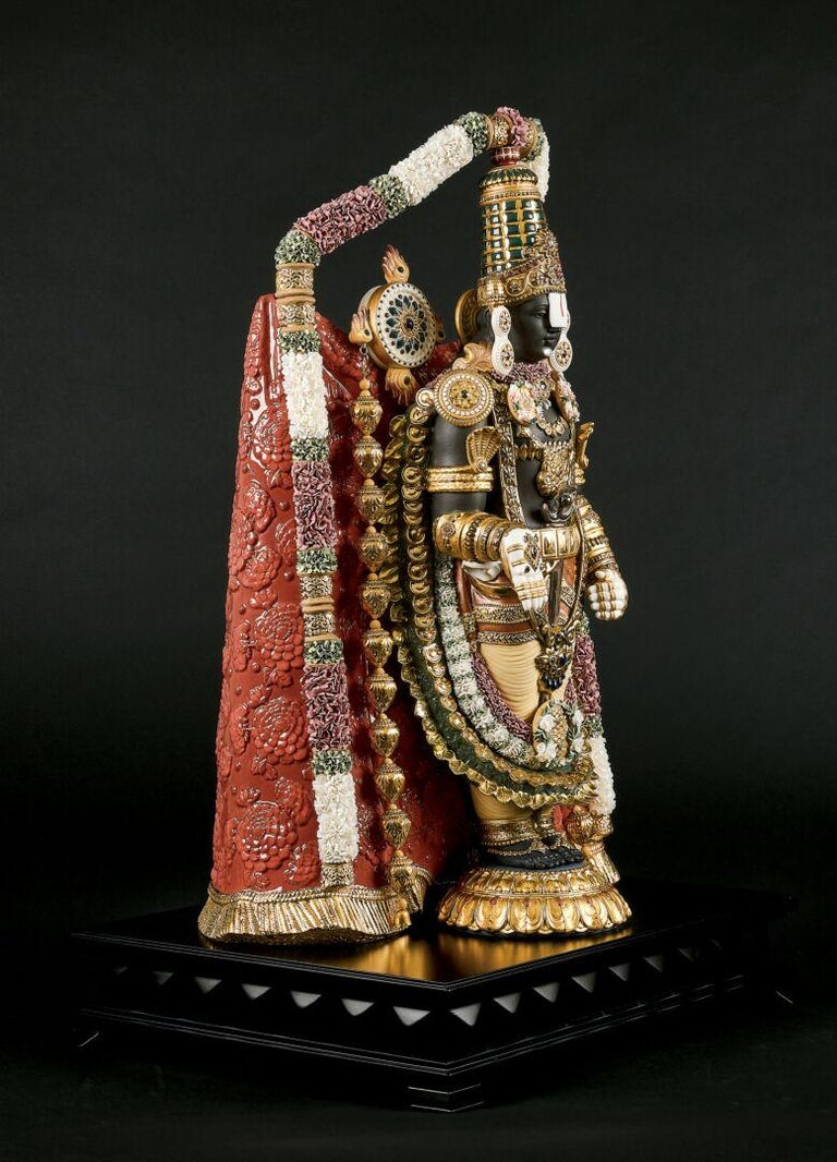 European Lord Balaji Sculpture. Limited Edition. For Sale