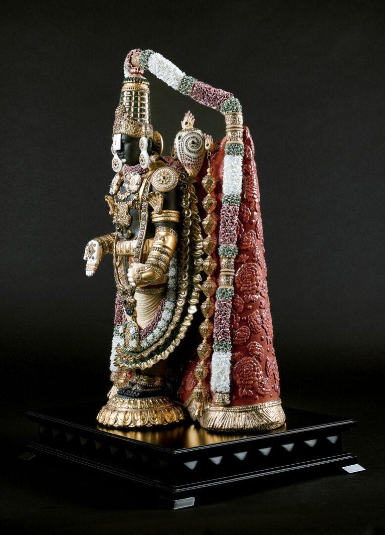 Lord Balaji Sculpture. Limited Edition. In New Condition For Sale In New York, NY