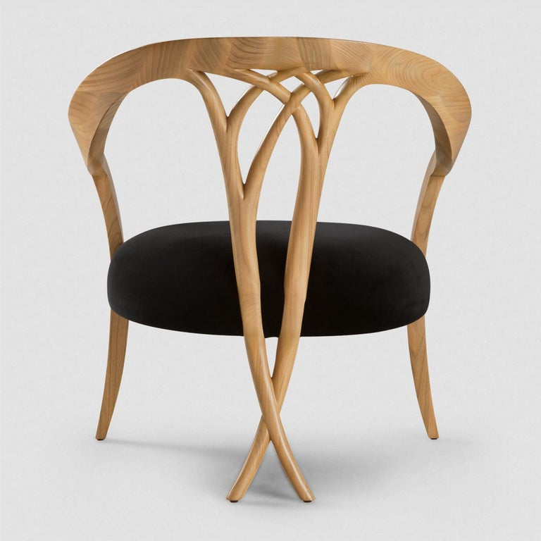 Lord Chair in Solid Wood In New Condition For Sale In Paris, FR