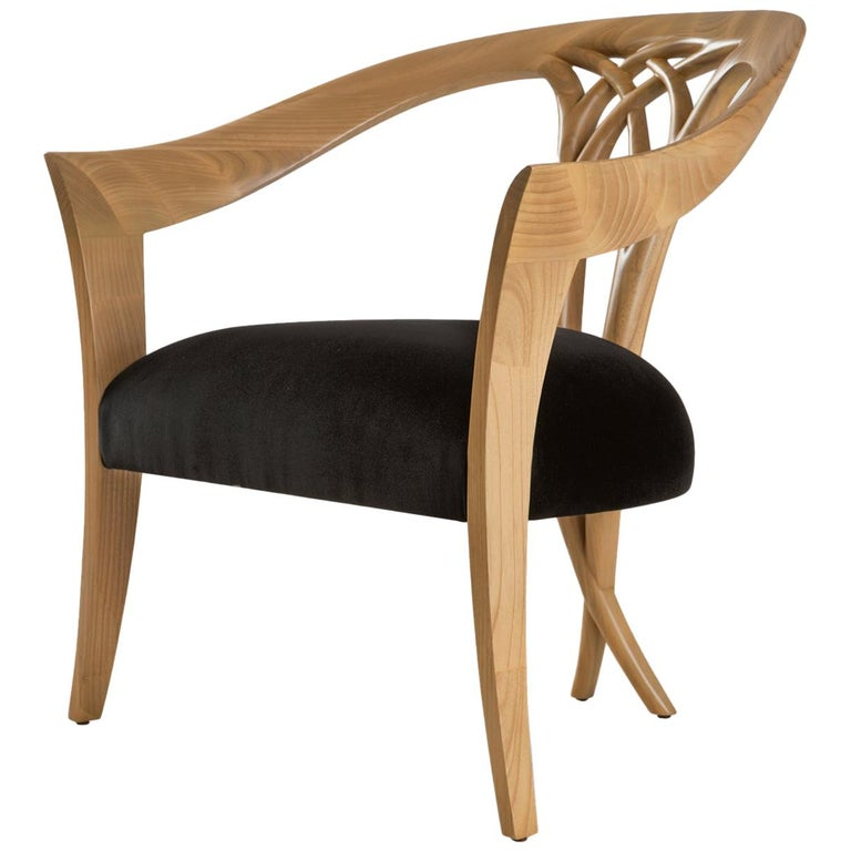 Lord Chair in Solid Wood For Sale