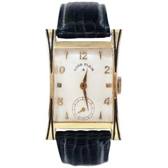 "Lord Elgin 14 Karat Gold Filled ""Thornton"" Watch, circa 1953"