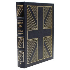 """Lord Jim"" by Joseph Conrad, Genuine Leather Bound Collector's Edition, 1987"