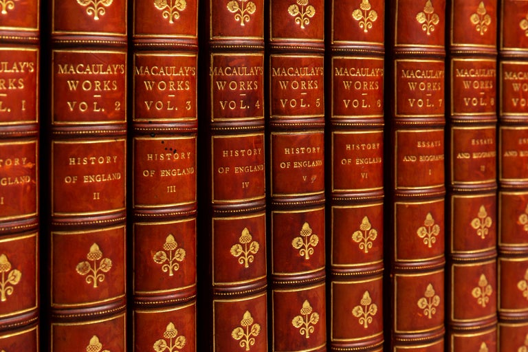 Lord Macaulay, The Works In Good Condition For Sale In New York, NY