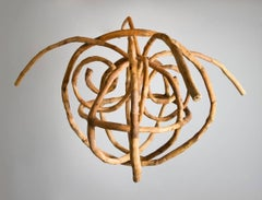 Loren Eiferman, Galaxy, 129 Pieces of Wood, 2012, Wood, Putty, Wood Sculpture