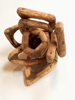 Wood Sculpture, 44 pieces: 'Fiji #1'