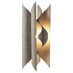 Lorenzo Burchiellaro Sculptural Table Lamp in Metal