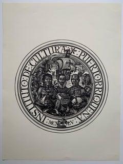 Puerto Rico Institute of Culture poster (Puerto Rican artist)
