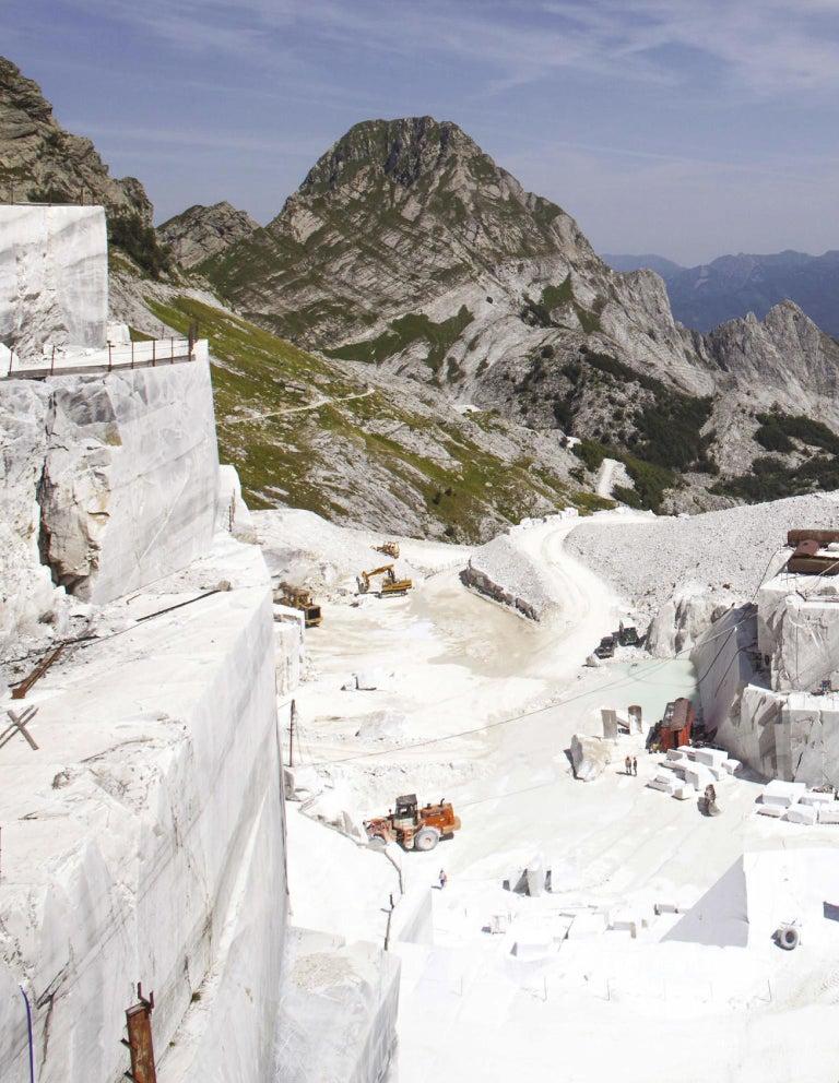 Danza ( Dance ) - hand carved figurative Carrara marble sculpture For Sale 9