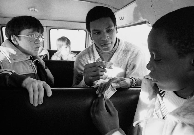 Mike Tyson Portfolio - Contemporary Photograph by Lori Grinker