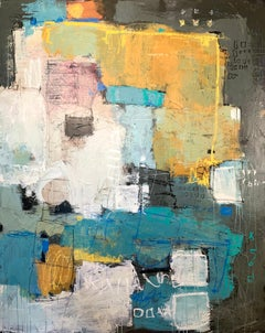 Where to Next - original abstract illustrative landscape artwork contemporary