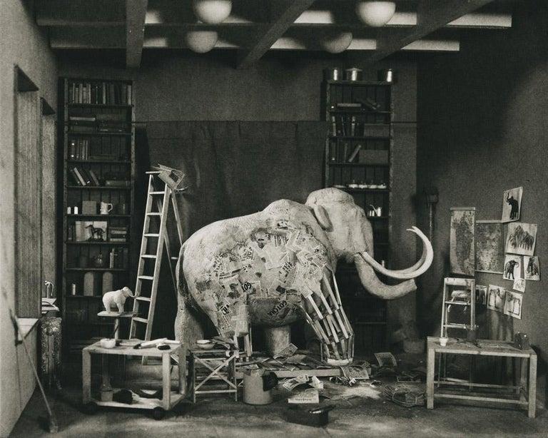 Lori Nix and Kathleen Gerber Still-Life Photograph - Mastodon