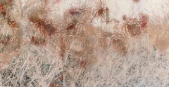 Stained Silk (Delusional Flowers) : Floral Abstract Photograph on Handmade Paper