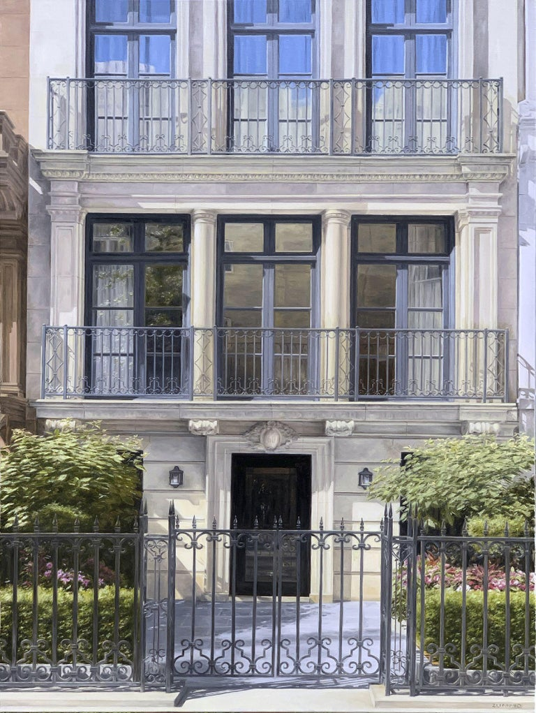 Sixty East 83rd Street - Painting by Lori Zummo