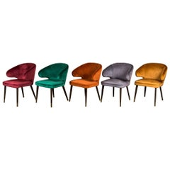 Lorient Retro Style Dining Chairs, 20th Century