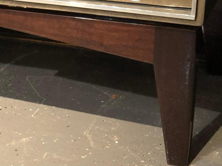 Steel Lorin Marsh Designs Tuxedo Two-Door Commode, Chest, Cabinet or Nightstand For Sale