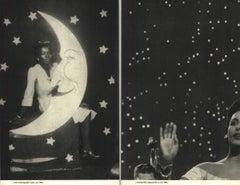 "Lorna Simpson-Backdrops Circa 1940-26.25"" x 33.5""-Serigraph-1998-Photography"