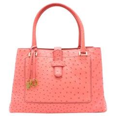 Loro Piana Baby Pink Bellevue Tote Bag