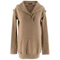 Loro Piana Cashmere Hooded Sweater S