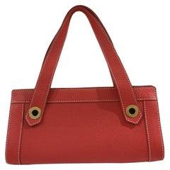Loro Piana Red shoulder bag / handle bag