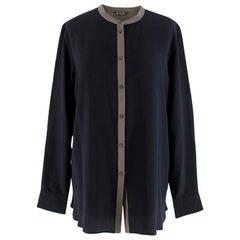 Loro Piana Silk long Sleeve Shirt - Size US 10