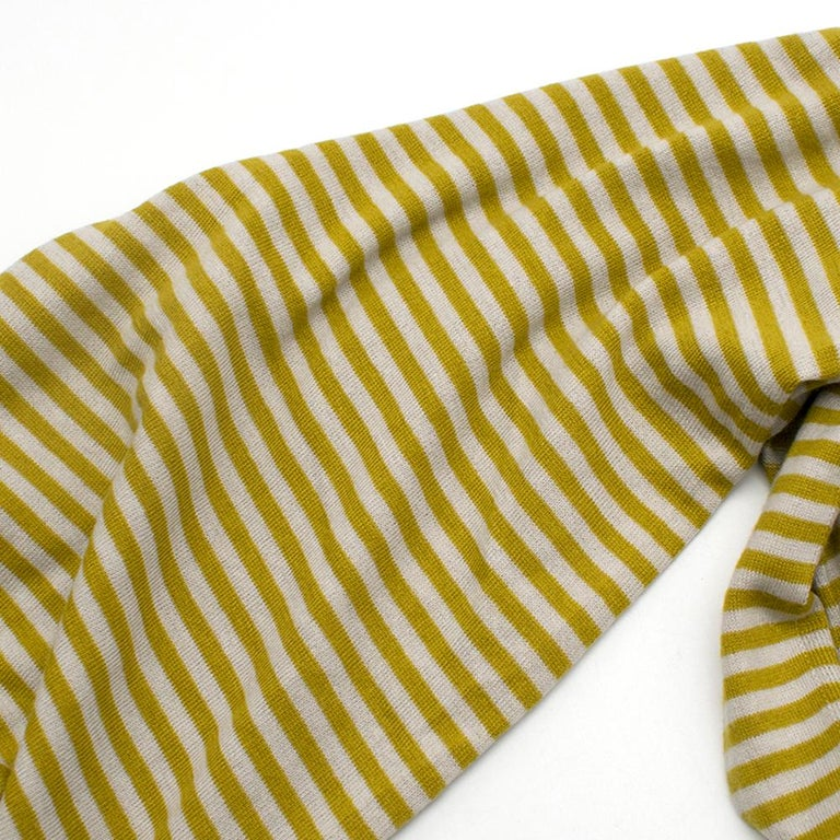 Loro Piana Striped Cashmere Scarf For Sale 4