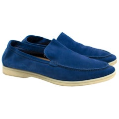 Loro Piana Summer Walk Suede Moccasin 44.5