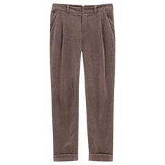 Loro Piana Velvet Straight Leg Pants