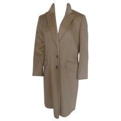 Loro Piana Wool Classic Camel Coat