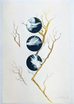 Lorraine Thorne, Tree of Life MonoPrint Series II, Original landscape painting