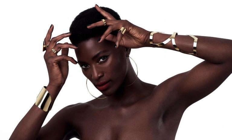 Contemporary Lorraine West Fawohodie Cuff Bracelet For Sale