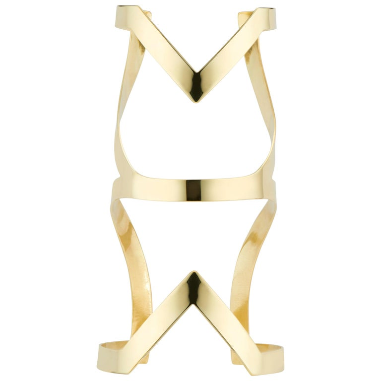Lorraine West Fawohodie Cuff Bracelet For Sale