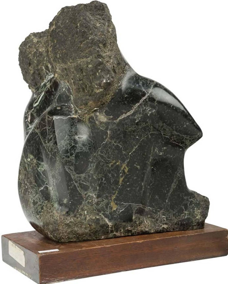 Embrasing Couple - Sculpture by Lorrie Goulet
