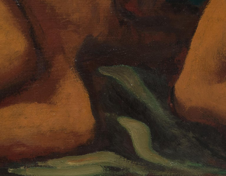 A painting by Lorser Feitelson.