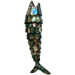 Los Castillo Articulated Abalone Fish Bottle Opener