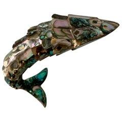 Los Castillo Articulated Abalone Fish Bottle Opener