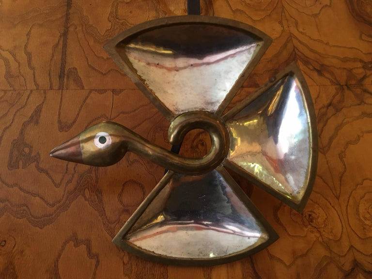 Los Castillo Taxco Mix Metal Bird For Sale 2
