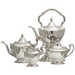 Lot 53 Reed and Barton Sterling Silver Tea Service